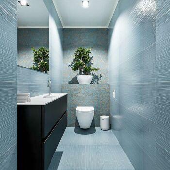 waschtisch set gäste wc ADA 120 cm schwarz FK75341761