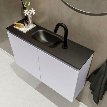 waschtisch set gäste wc TURE 80 cm lavendel FK75341604