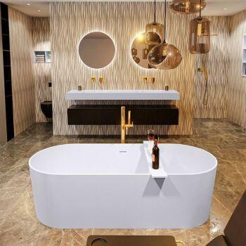 badewanne mineralwerkstoff serie nobel 180 cm lavendel...
