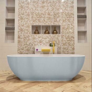 badewanne mineralwerkstoff serie rock 170 cm außen...