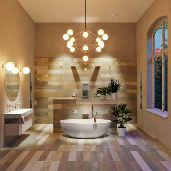 badewanne mineralwerkstoff serie float 170 cm leinen matt...