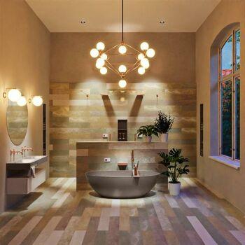 badewanne mineralwerkstoff serie float 170 cm taupe matt...