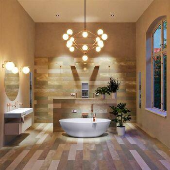 badewanne mineralwerkstoff serie float 170 cm lavendel...