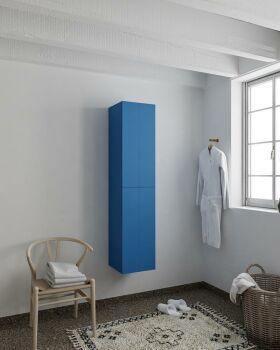 BEAM 160cm Hochschrank farbe blau mit 2 türen