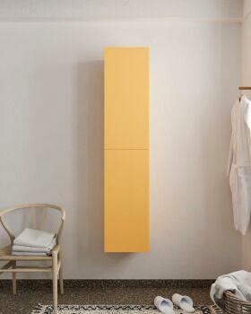 BEAM 160cm Hochschrank farbe gelb mit 2 türen