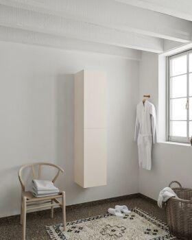 BEAM 160cm Hochschrank farbe leinen mit 2 türen
