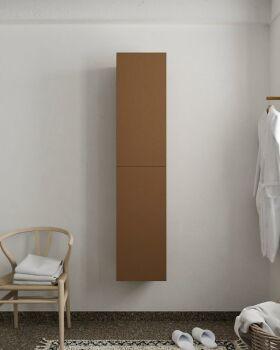 BEAM 160cm Hochschrank farbe rost mit 2 türen