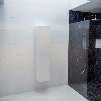 BEAM 160cm Hochschrank farbe weiß mit 2 türen