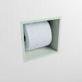 toilettenpapierhalter solid surface würfel minze