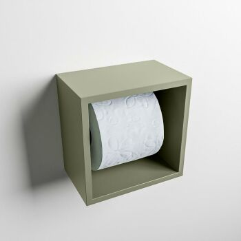 toilettenpapierhalter solid surface würfel army...