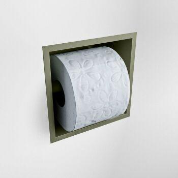 toilettenpapierhalter solid surface halbe würfel...