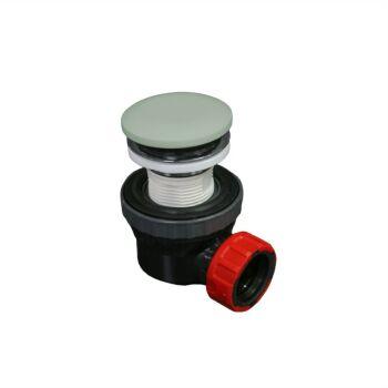 klick siphon solid surface rund minze