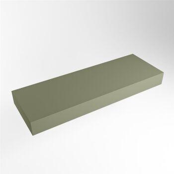 aufsatzplatte l freihängend solid surface 120 cm...