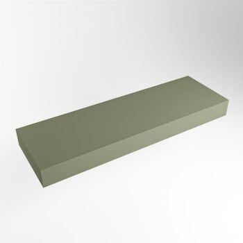 aufsatzplatte l freihängend solid surface 130 cm...