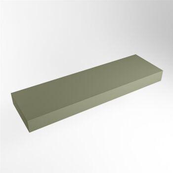 aufsatzplatte l freihängend solid surface 140 cm...
