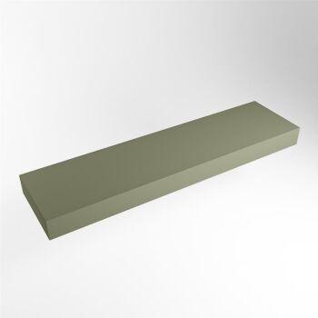 aufsatzplatte l freihängend solid surface 160 cm...