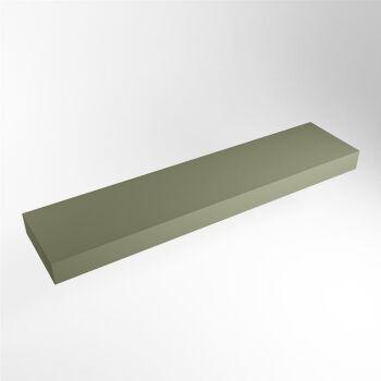 aufsatzplatte l freihängend solid surface 180 cm...