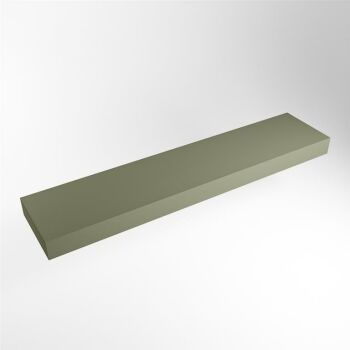 aufsatzplatte l freihängend solid surface 190 cm...