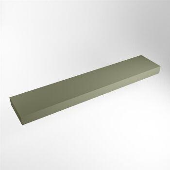 aufsatzplatte l freihängend solid surface 210 cm...