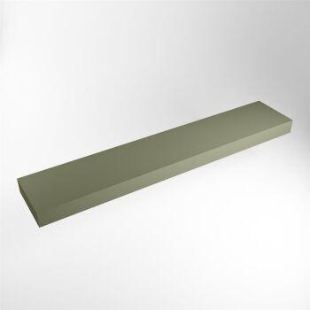 aufsatzplatte l freihängend solid surface 220 cm...