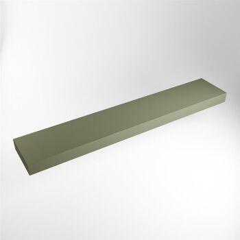 aufsatzplatte l freihängend solid surface 230 cm...
