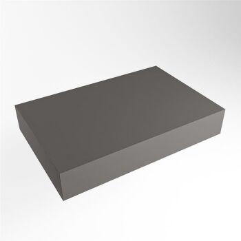 aufsatzplatte xl freihängend Solid Surface 70 cm...