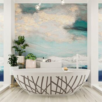 badewanne mineralwerkstoff serie holm design 180 cm taupe...