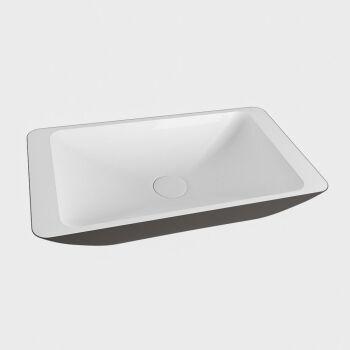 aufsatzwaschbecken solid surface topi außen...