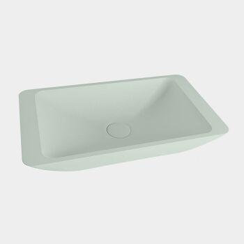 aufsatzwaschbecken solid surface topi außen Minze...