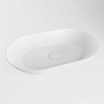 aufsatzwaschbecken solid surface omni außen Minze...