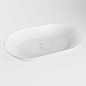 aufsatzwaschbecken solid surface omni außen Leinen...