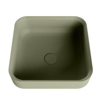 aufsatzwaschbecken solid surface binx außen Army...