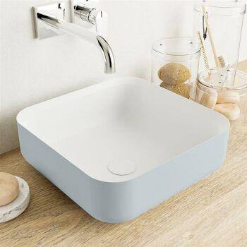 aufsatzwaschbecken solid surface binx außen...