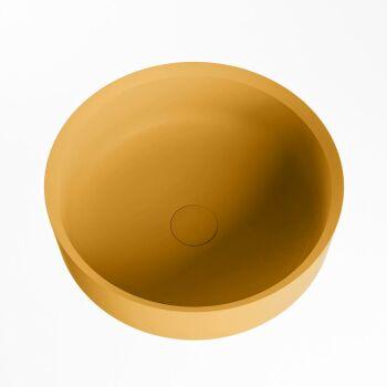 aufsatzwaschbecken solid surface coss außen Gelb...