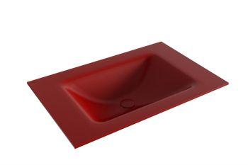 waschtisch cloud rot 70 cm waschbecken mittig