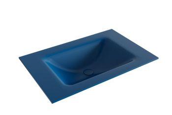 waschtisch cloud blau 70 cm waschbecken mittig