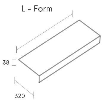 regal mdf l-form 70 cm m80120
