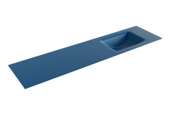 waschtisch cloud blau 180 cm waschbecken rechts