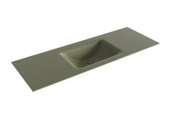 waschtisch cloud army grün 130 cm waschbecken mittig