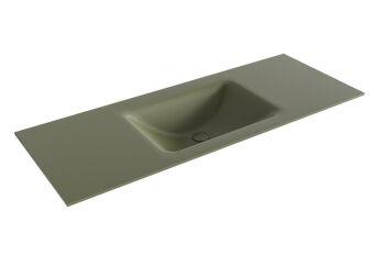 waschtisch cloud army grün 120 cm waschbecken mittig