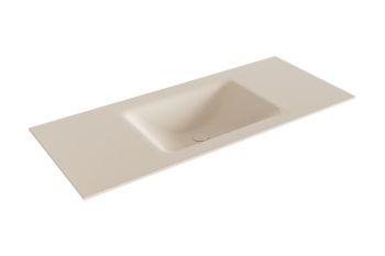 waschtisch cloud leinen 110 cm waschbecken mittig