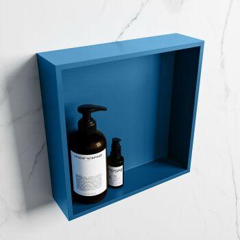 hängeregal easy solid surface 1 fach blau 29,5 cm