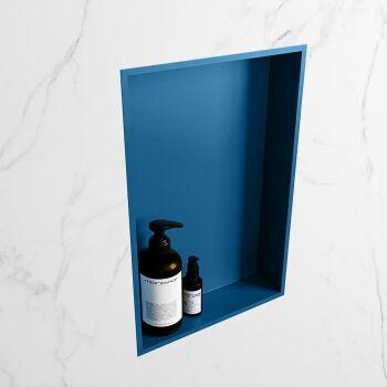 hängeregal easy solid surface 1 fach blau 44,5 cm
