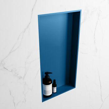hängeregal easy solid surface 1 fach blau 59,5 cm