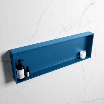 hängeregal easy solid surface 1 fach blau 89,5 cm