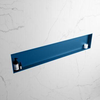 hängeregal easy solid surface 1 fach blau 149,5 cm