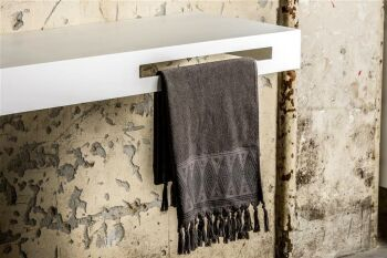 handtuchhalter hängender waschtisch vorderseite rechts