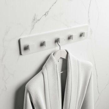 hakenleiste weiß solid surface easy 45 x 9 x 4,2 cm