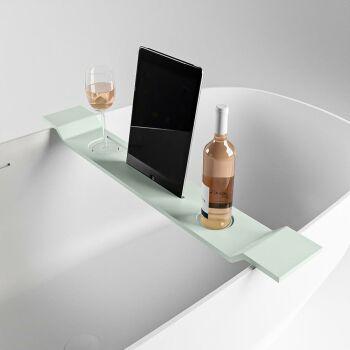 badewannenablage minze solid surface easy 86 x 12,5 x 4,2 cm