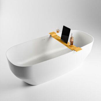 badewannenablage gelb solid surface easy 86 x 12,5 x 4,2 cm